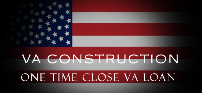 Michigan one time close va construction loans mi va home Interest only construction loan