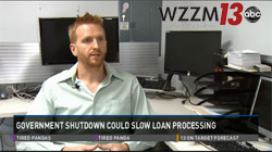 Anthony Bird interviewed on home loans by ABC's WZZM13 News